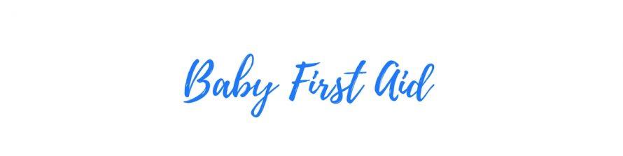 baby first aid header